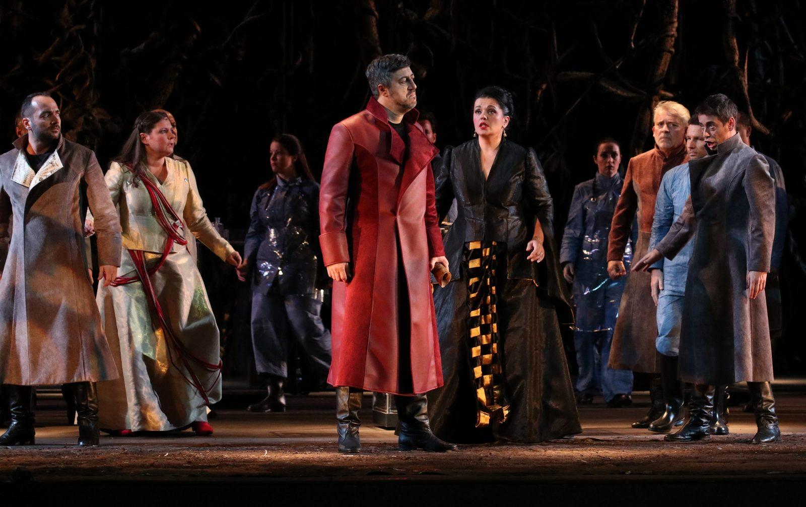 FOTO: ZRINJSKI Kristina i Robert Kolar prvi put supružnici i na opernoj sceni