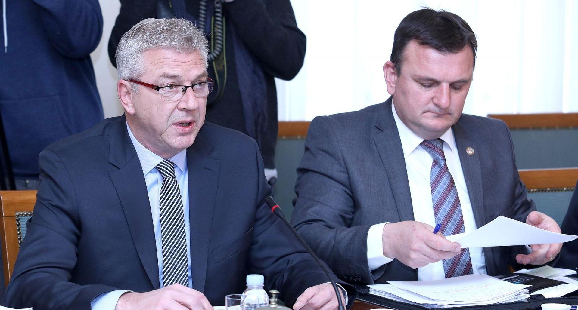Danas sjednica Odbora za unutarnju politiku i nacionalnu sigurnost