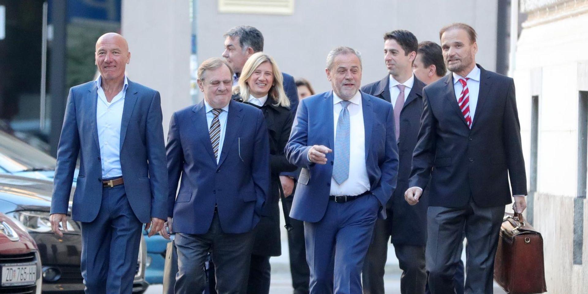 AFERA AGRAM Bandić stigao na sud, suđenje počinje 11. listopada