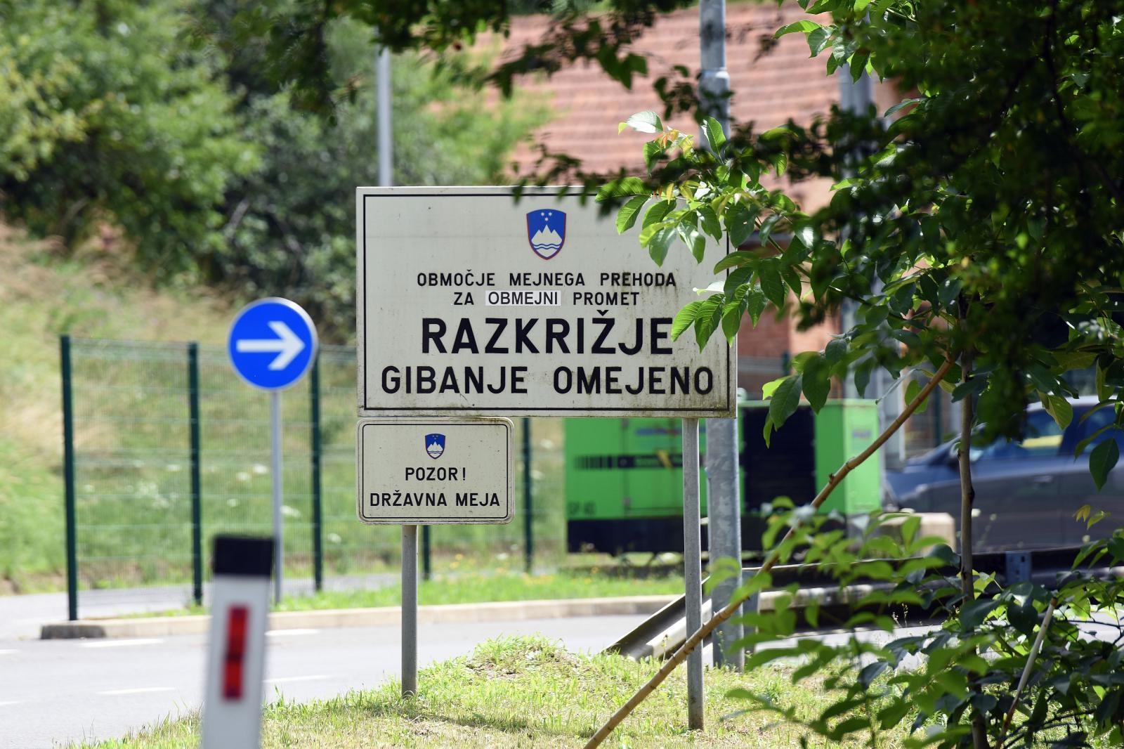 Migranti i dalje ilegalno prelaze slovensku granicu