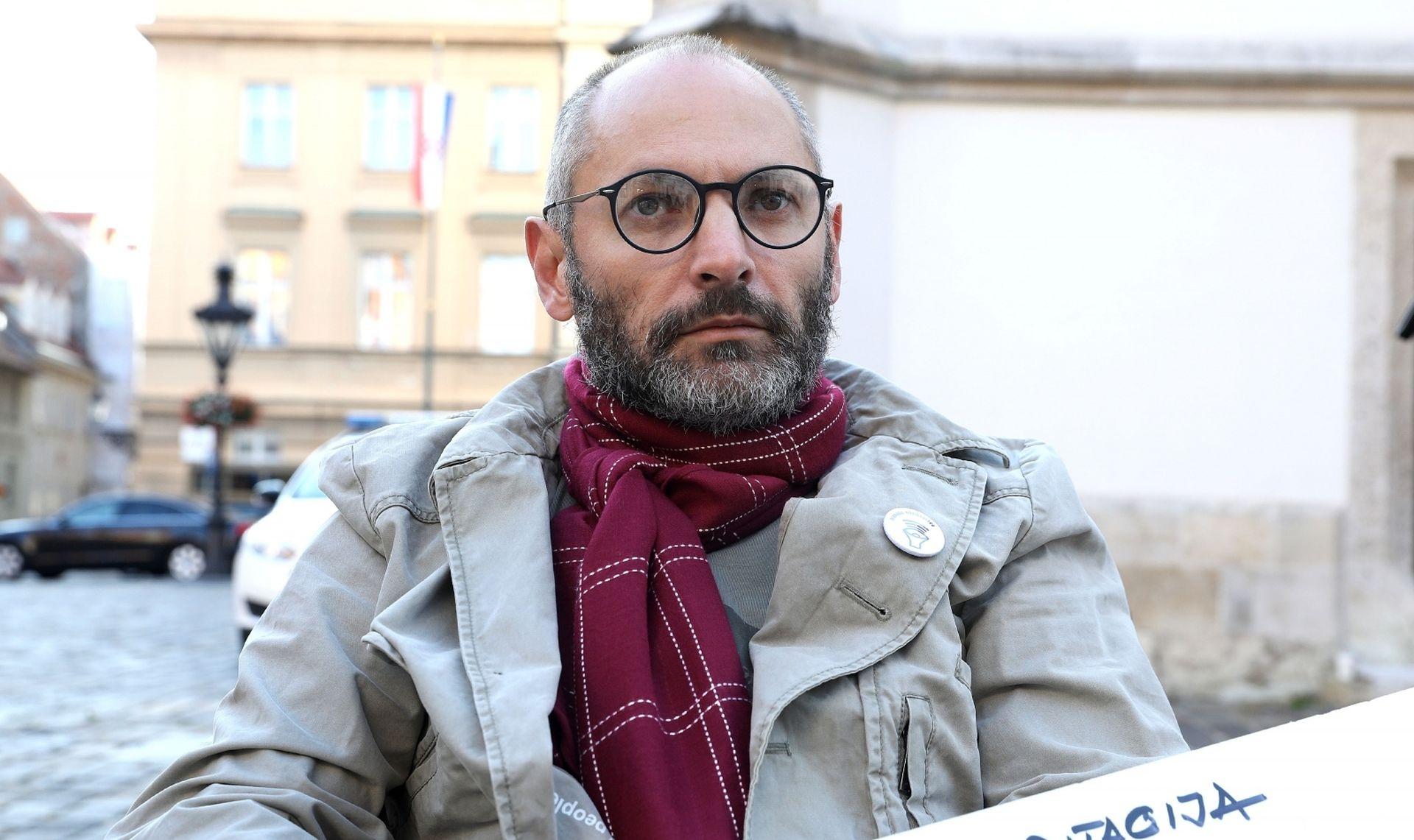 Margetić primljen u Vladi, mole ga da prekine štrajk glađu