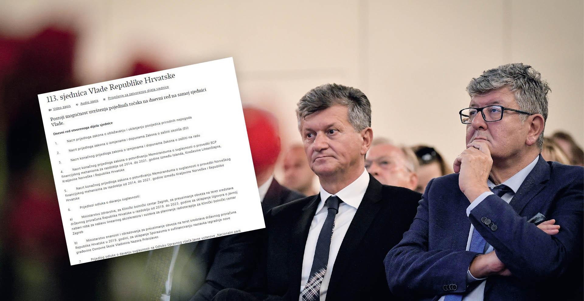 Kujundžić uređaj za KBC Zagreb platio znatno više nego za Osijek