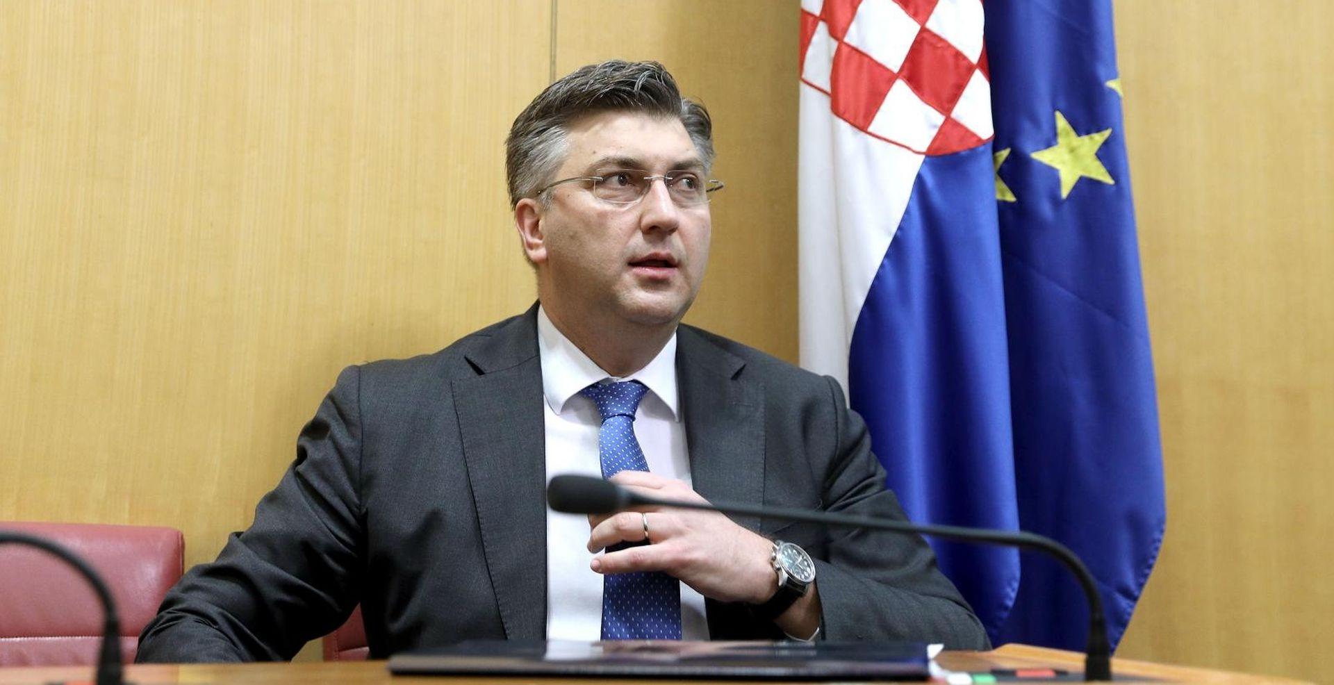 Plenković u Saboru podnosi godišnje izvješće