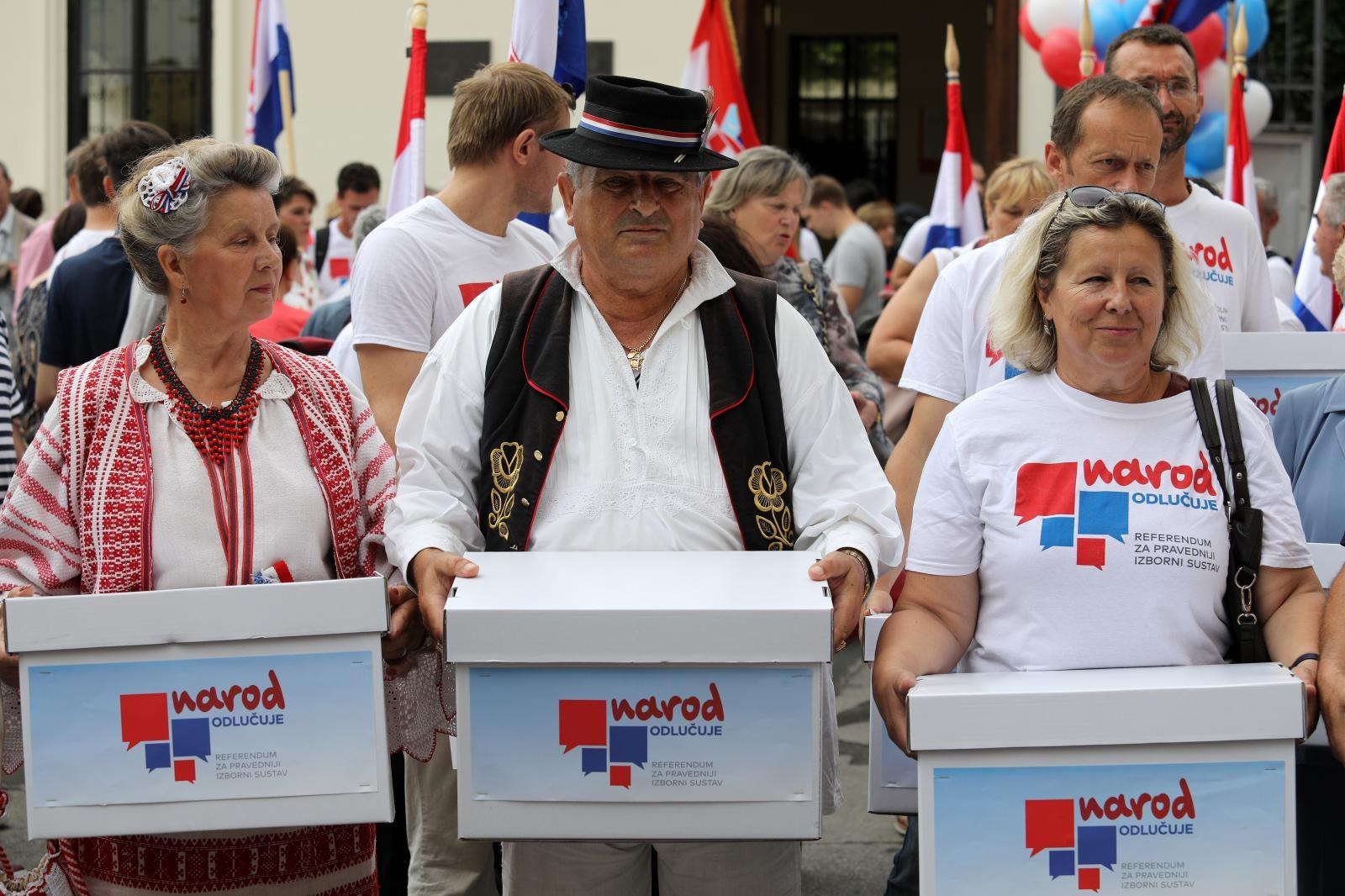 Ministarstvo referendumskim inicijativama omogućilo uvid u neispravne potpise birača