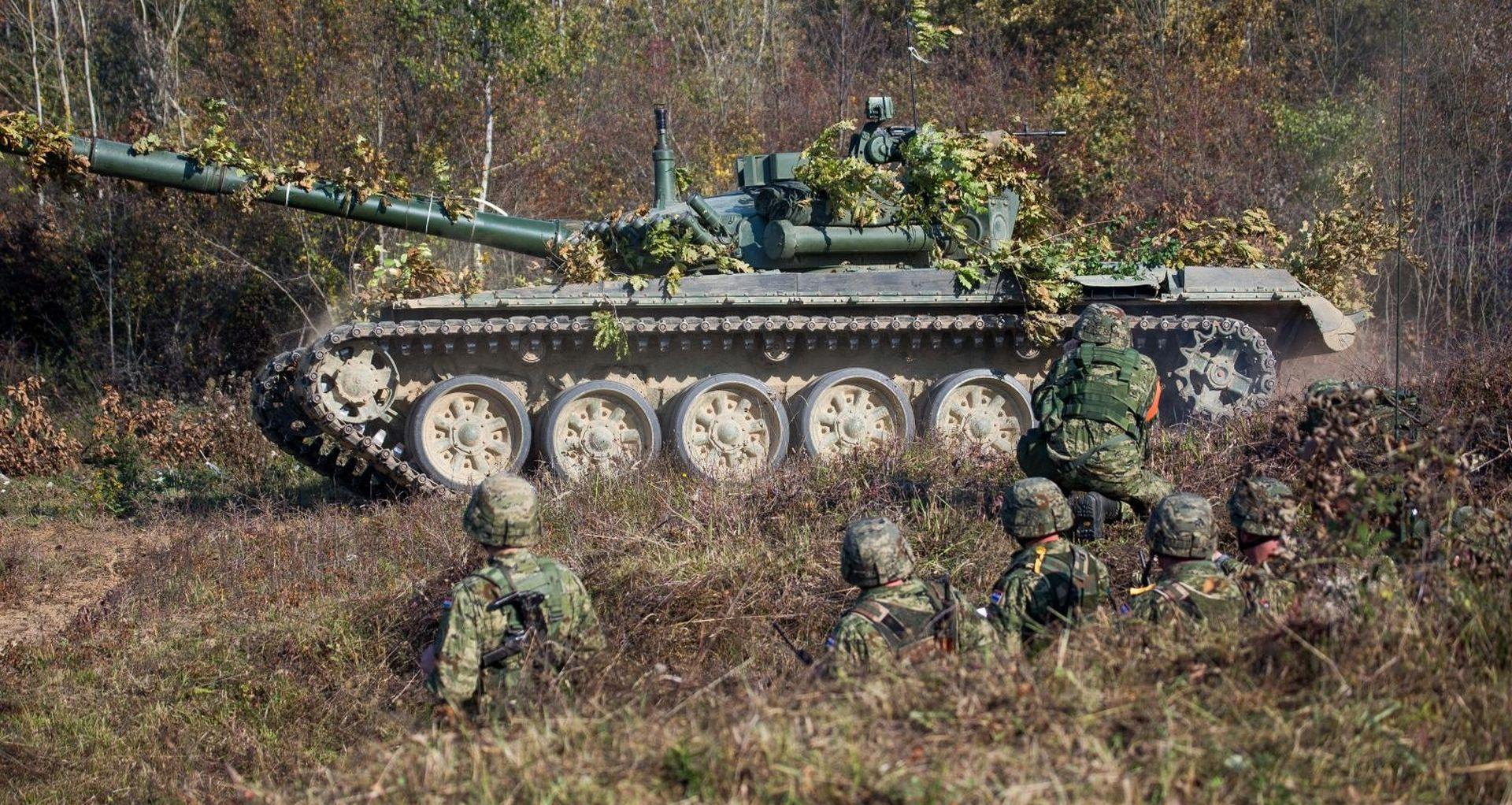 U Udbini počela vojna vježba Velebit 18 – združena snaga