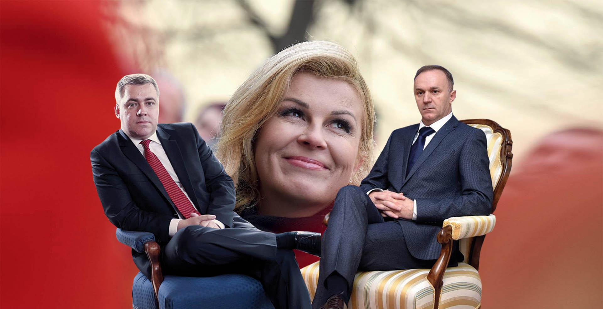 EKSKLUZIVNO Savjetnici Grabar-Kitarović Radeljić i Galić pravi su vladari Pantovčaka