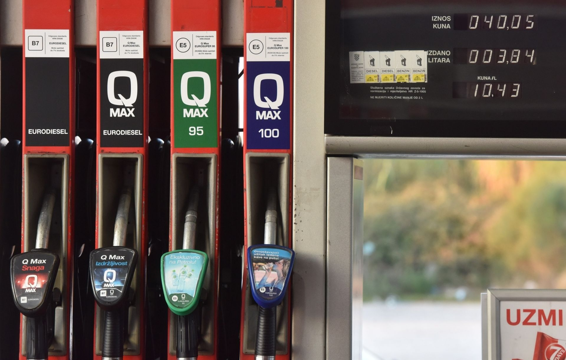 Od petka novi sustav označavanja goriva na benzinskim postajama