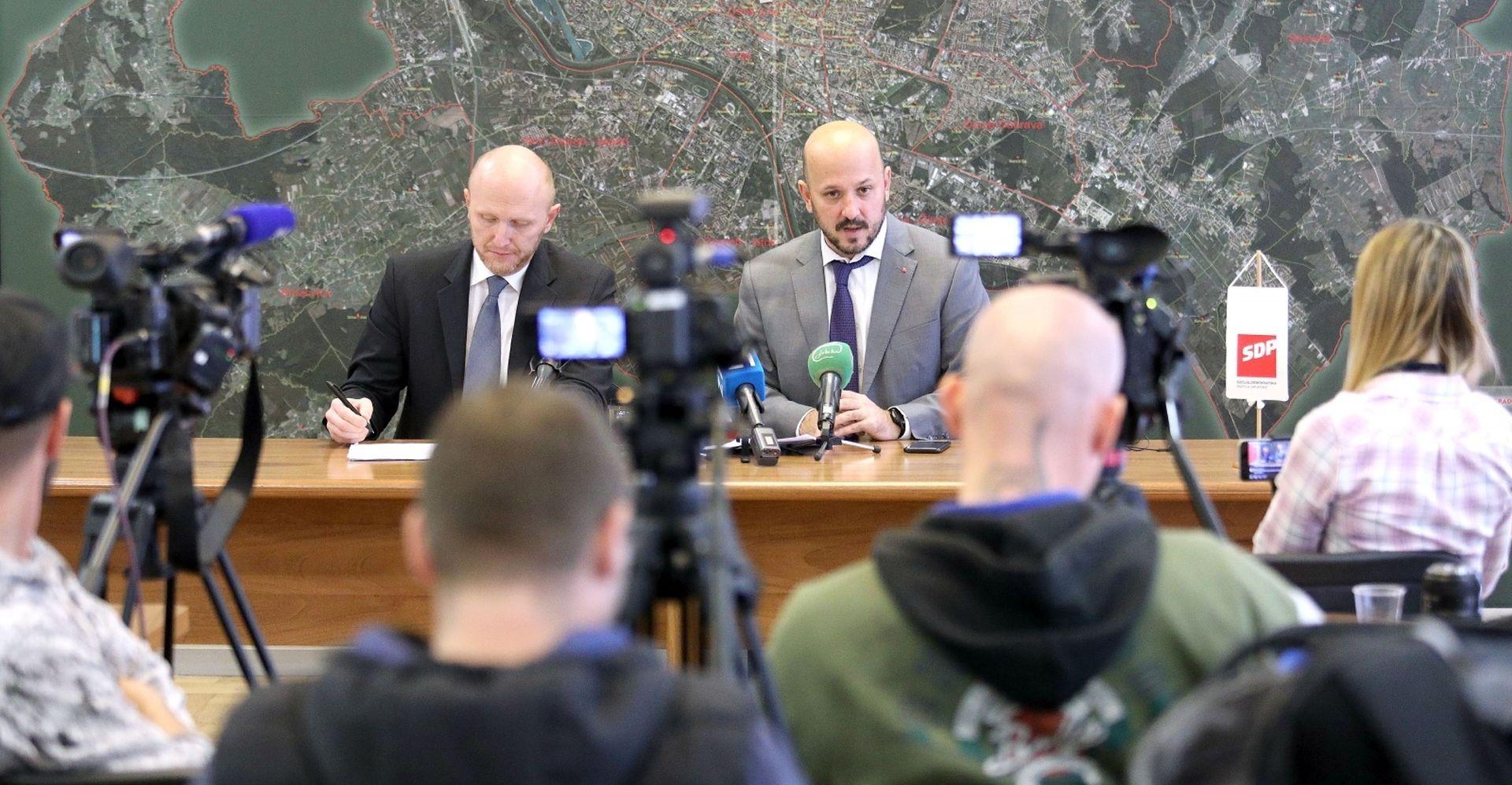 Zagrebački SDP optužio Bandića da politički trguje gradskim novcem