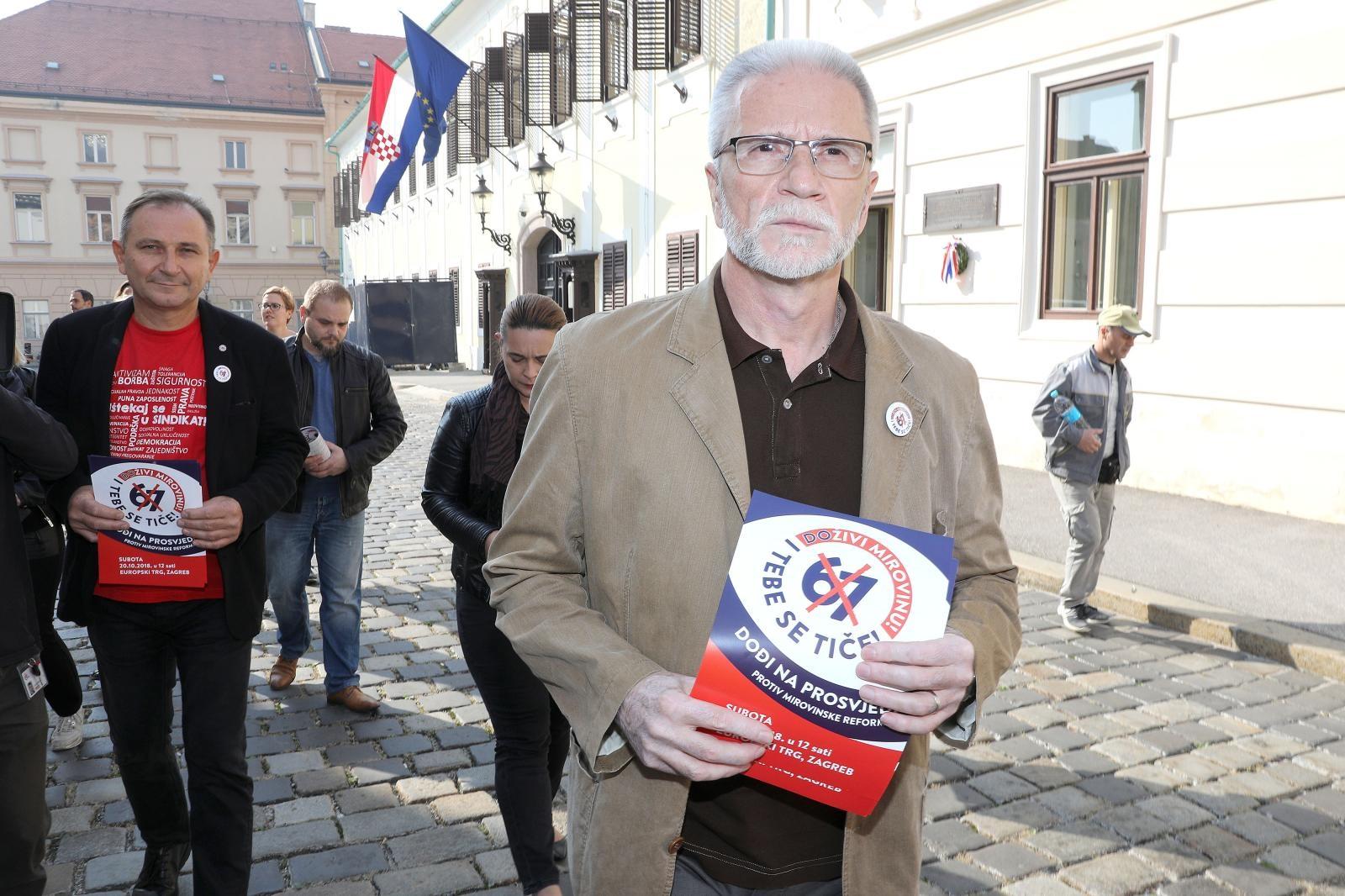 SEVER 'Ako se Vlada ogluši na prosvjed, spremni smo na referendum'