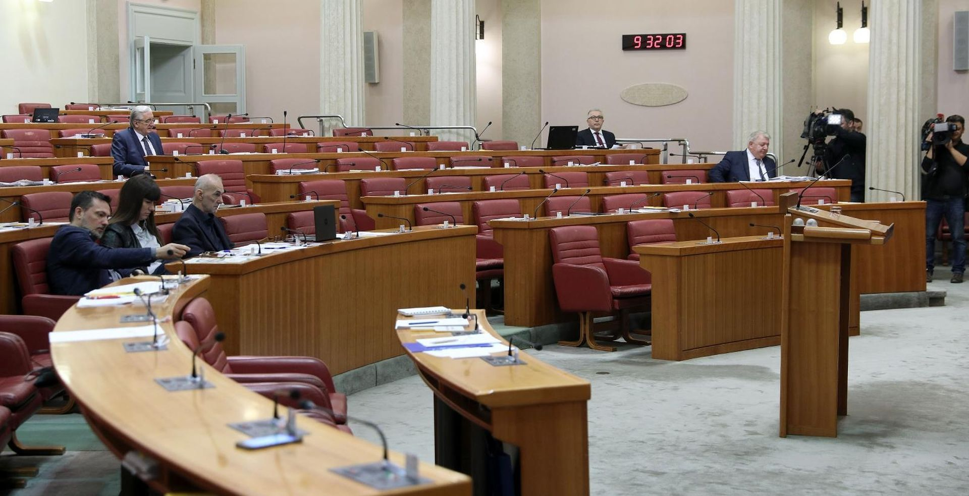 Sabor ovoga tjedna o mirovinskoj reformi, novim udžbenicima