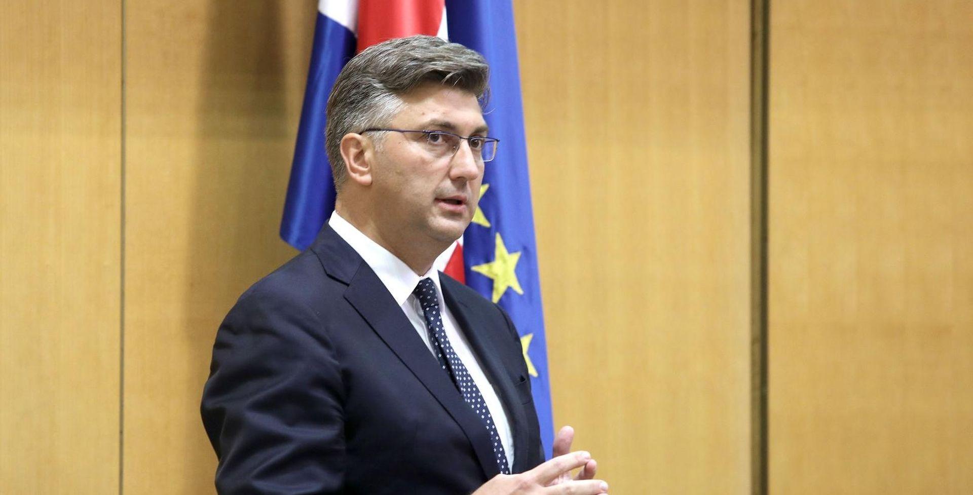 Plenković sutra Saboru podnosni godišnje izvješće