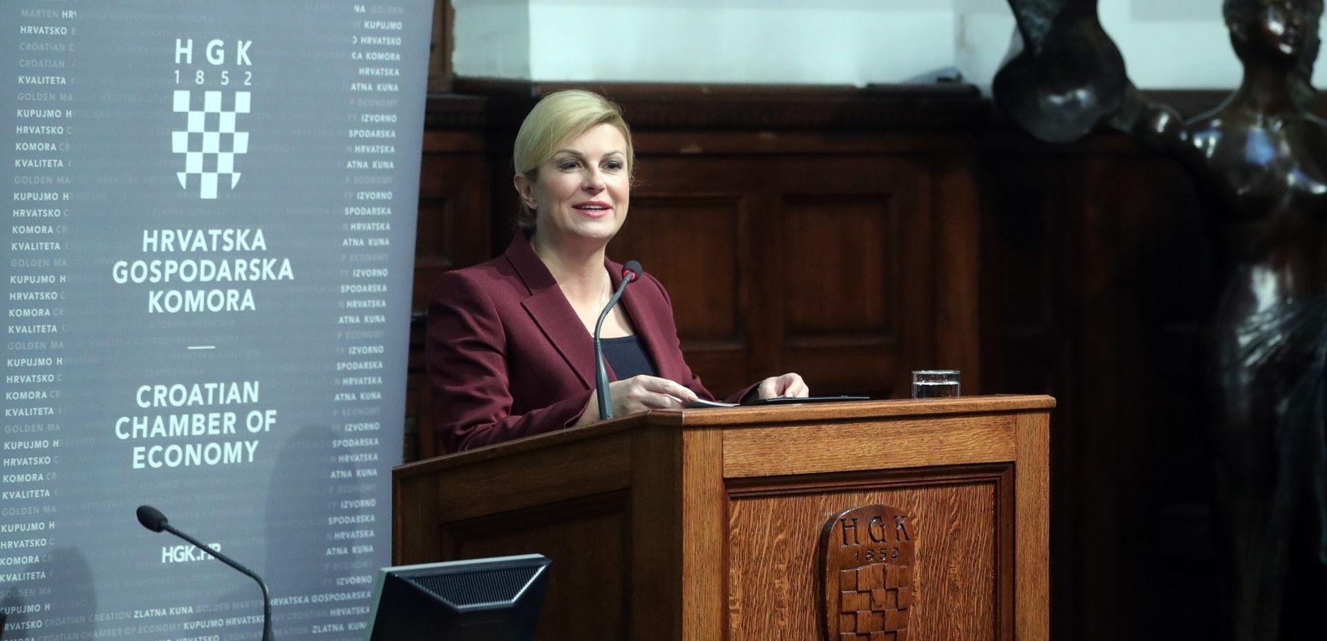 Predsjednica potvrdila da je njen savjetnik bio u kontaktu s Vargom