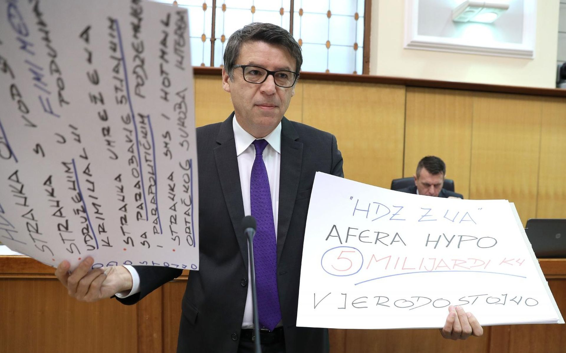 Jovanović brojao HDZ-ove afere; Borić o SDP-ovim 'grijesima'