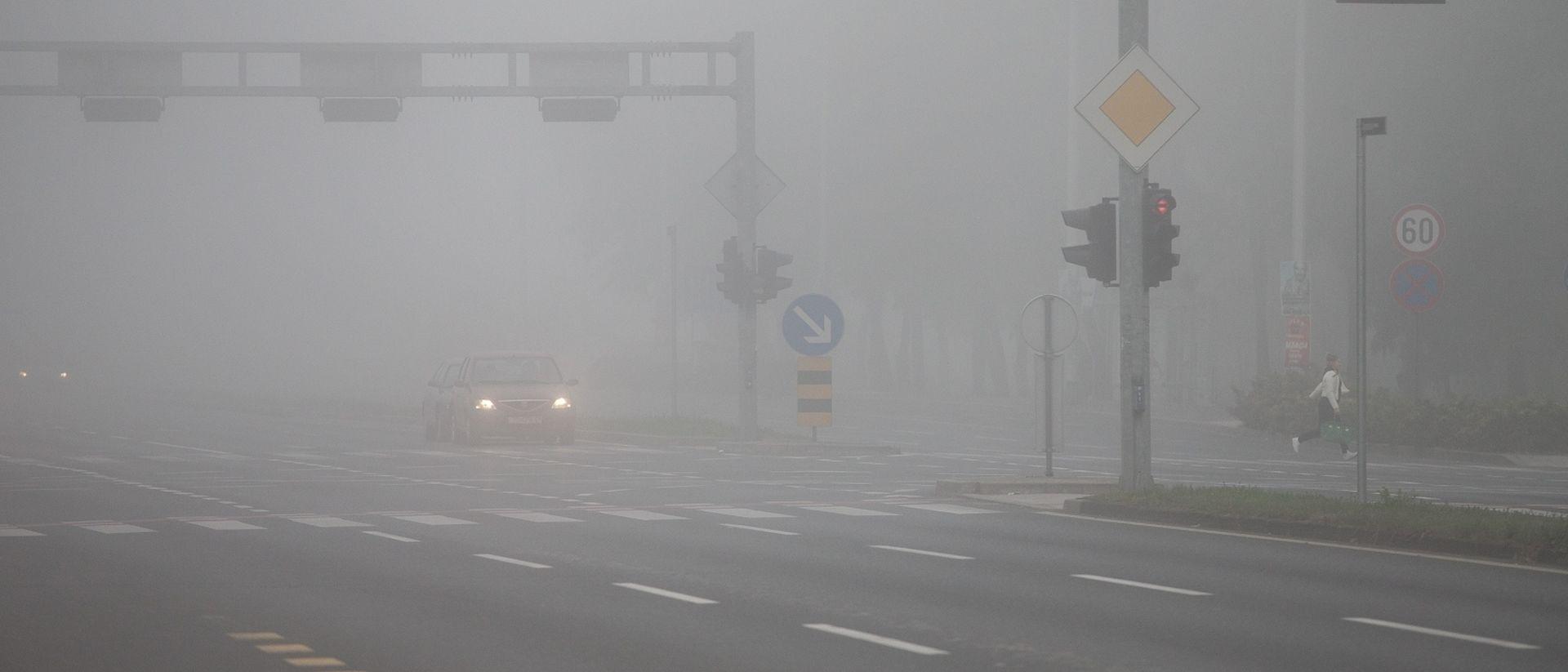 Magla u Lici i na A1, pojačan promet u zoni radova
