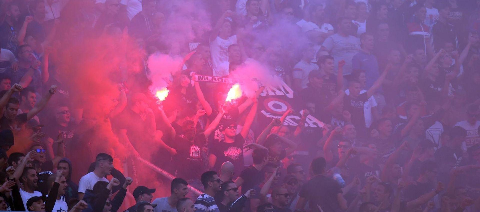 Splitski vatrogasci žele sastanak s Hajdukom i Torcidom