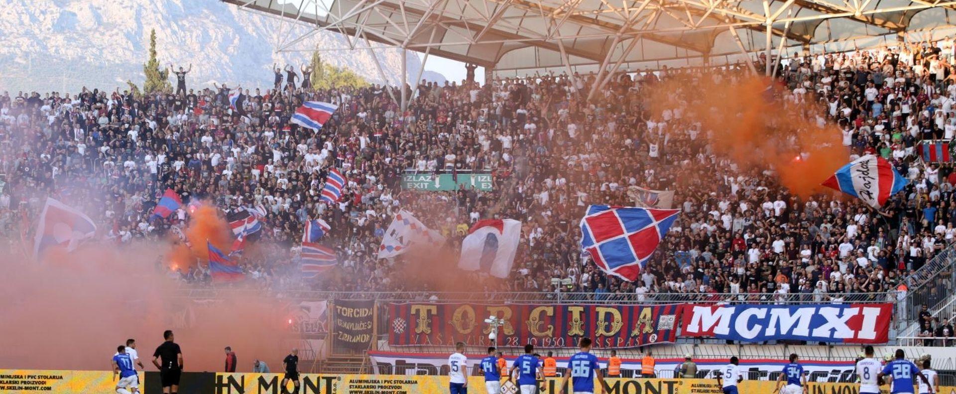 NAJTEŽA KAZNA U POVIJESTI HNL-A Hajduku četiri utakmice bez gledatelja