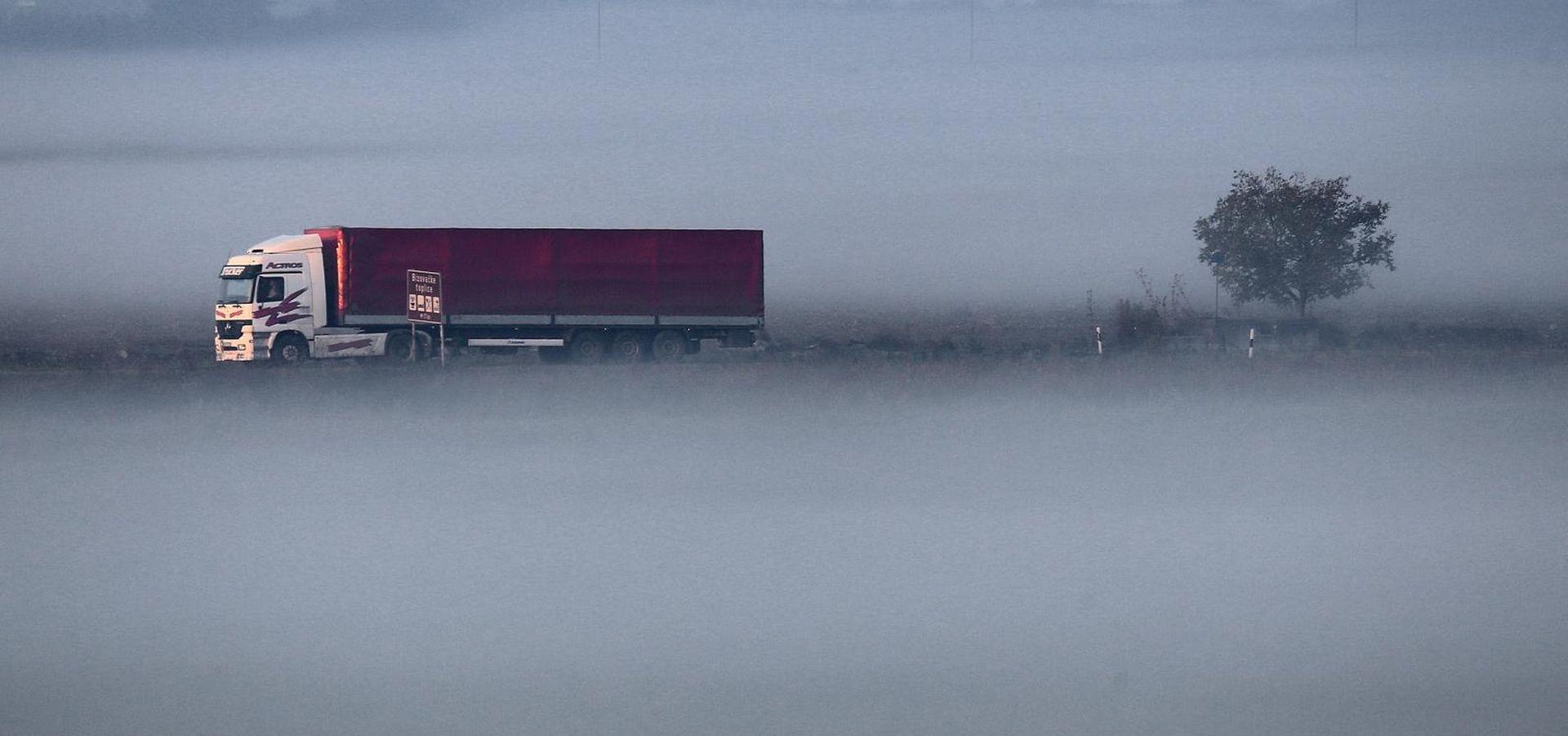 Magla smanjuje vidljivost, prometna na riječkoj obilaznici