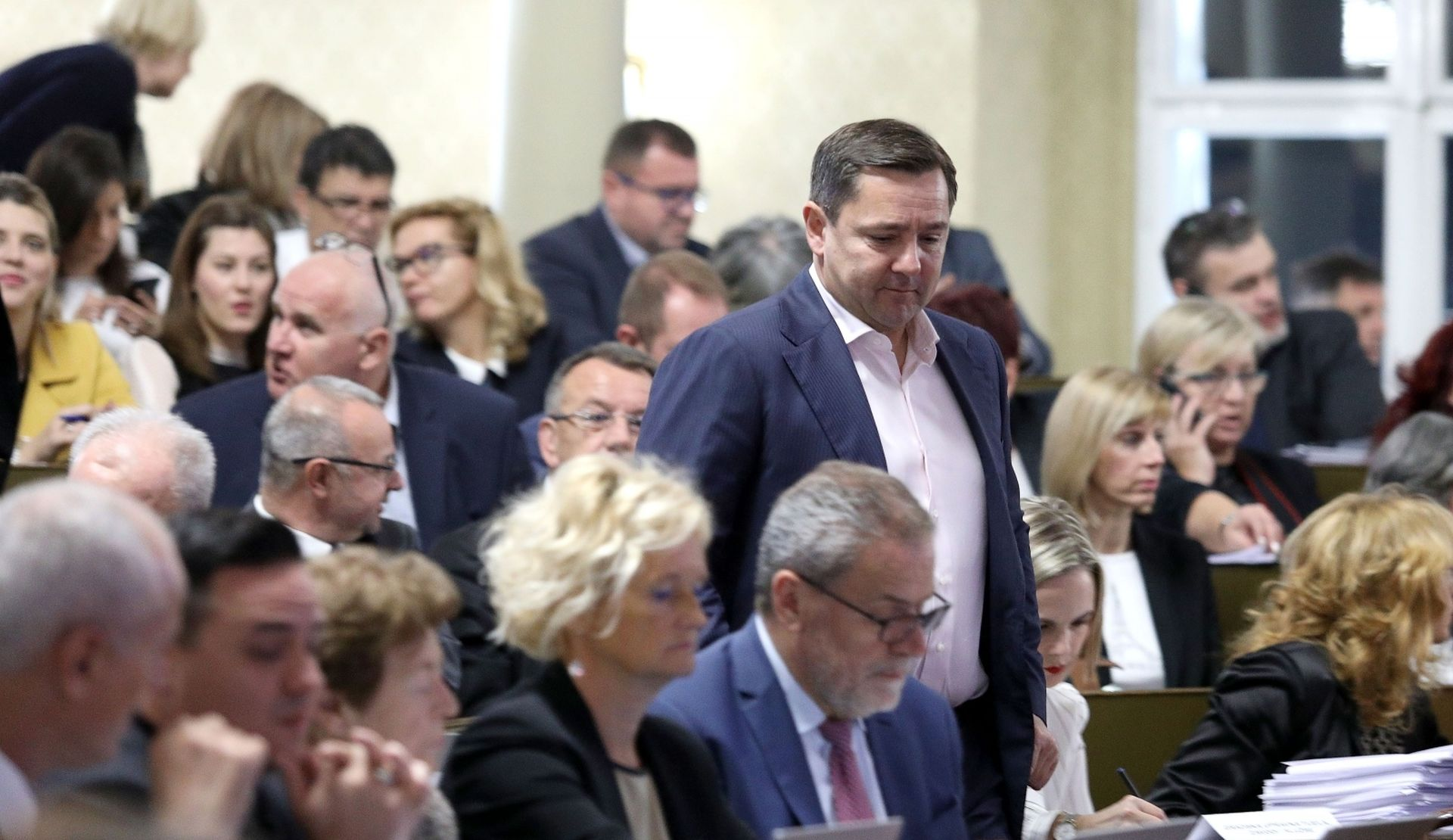 Sjednica zagrebačke Gradske skupštine počela stankama oporbe