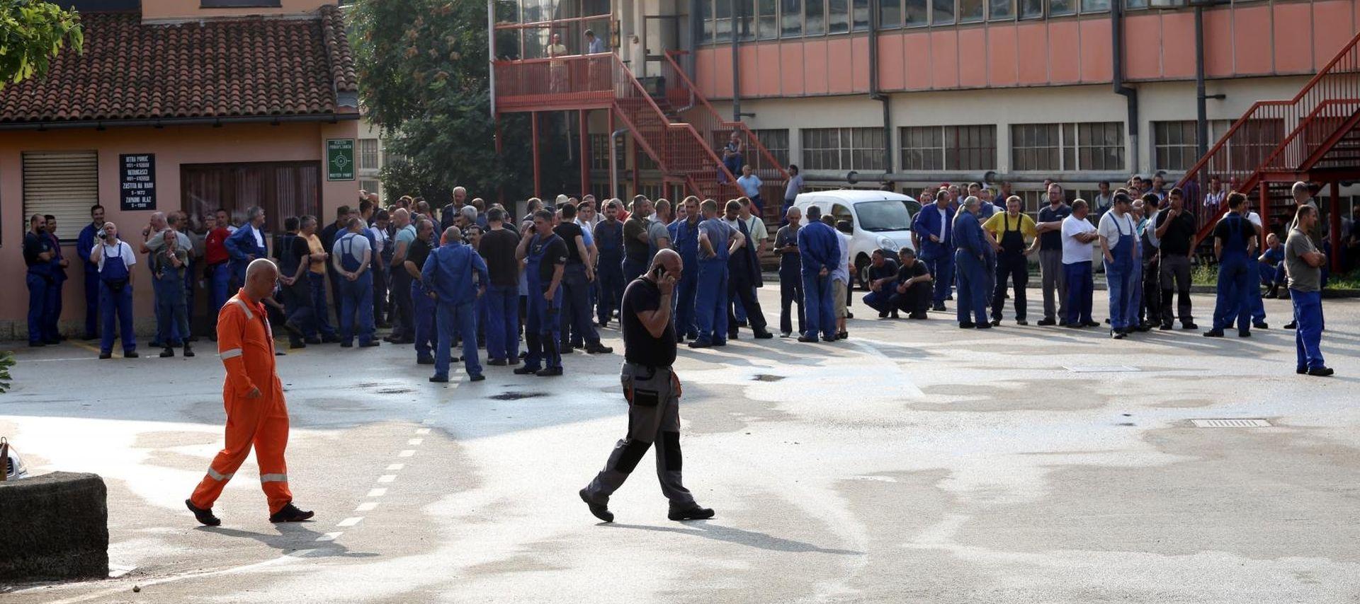 """SINDIKAT """"Osuđujemo one koji odgovornost za Uljanik žele prebaciti na radnike"""
