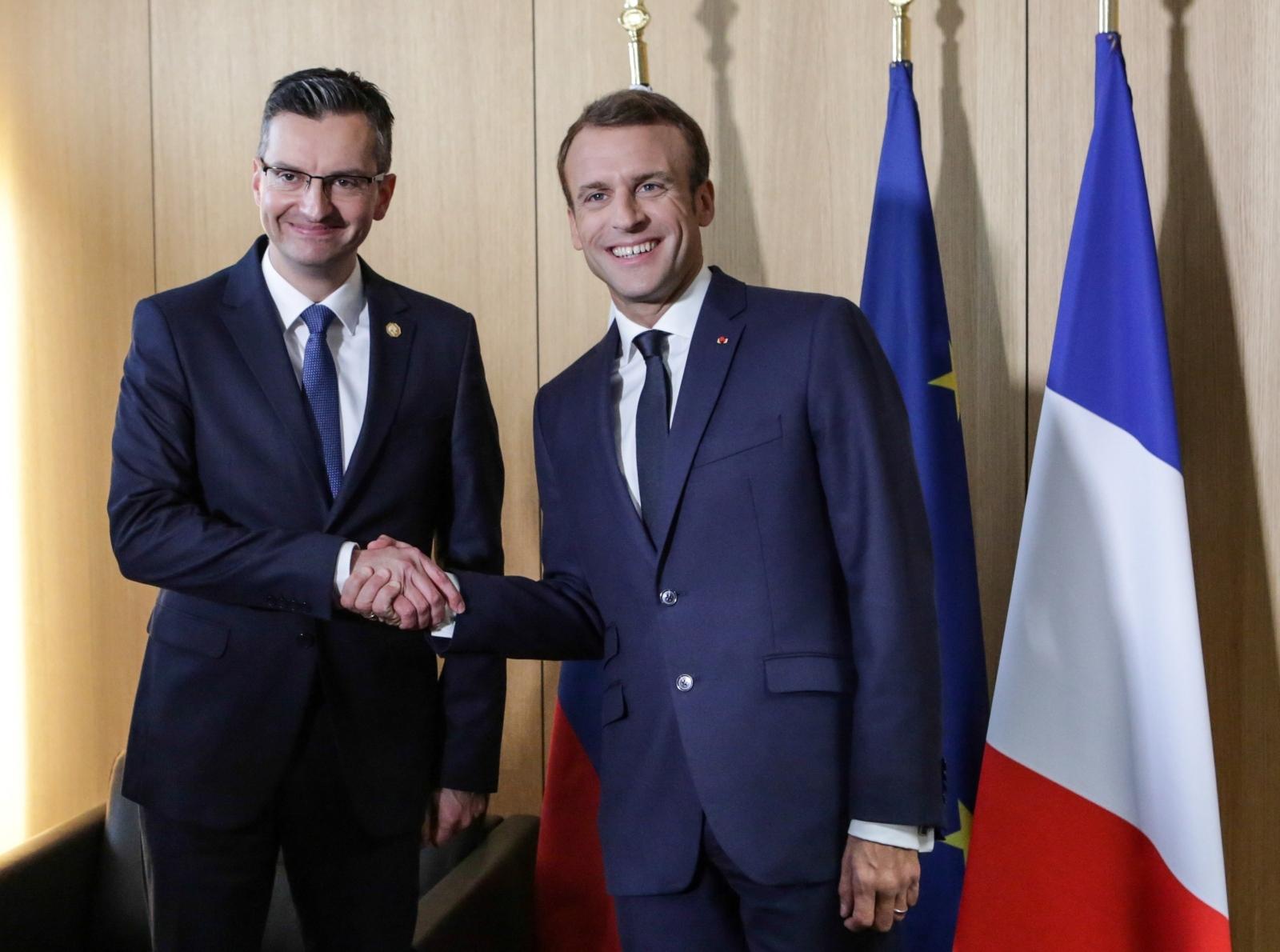 """Macron """"uglavnom saslušao"""" Šarčeva stajališta o pitanju granice s Hrvatskom"""