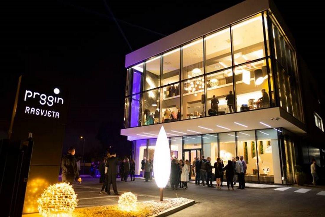 FOTO: Otvoren novi prodajni centar Prggin rasvjete