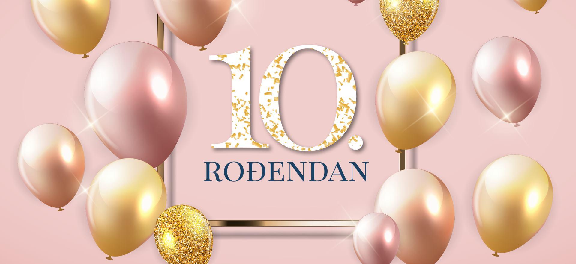 Roses Designer Outlet slavi deseti rođendan