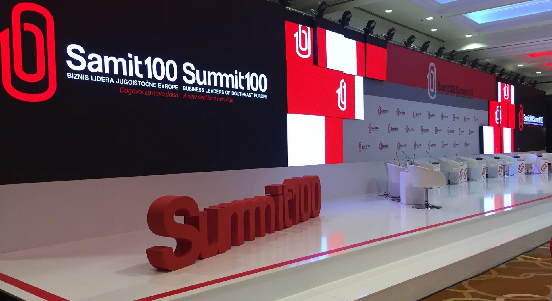 Svečano otvoren SUMMIT100 biznis lidera jugoistočne Europe
