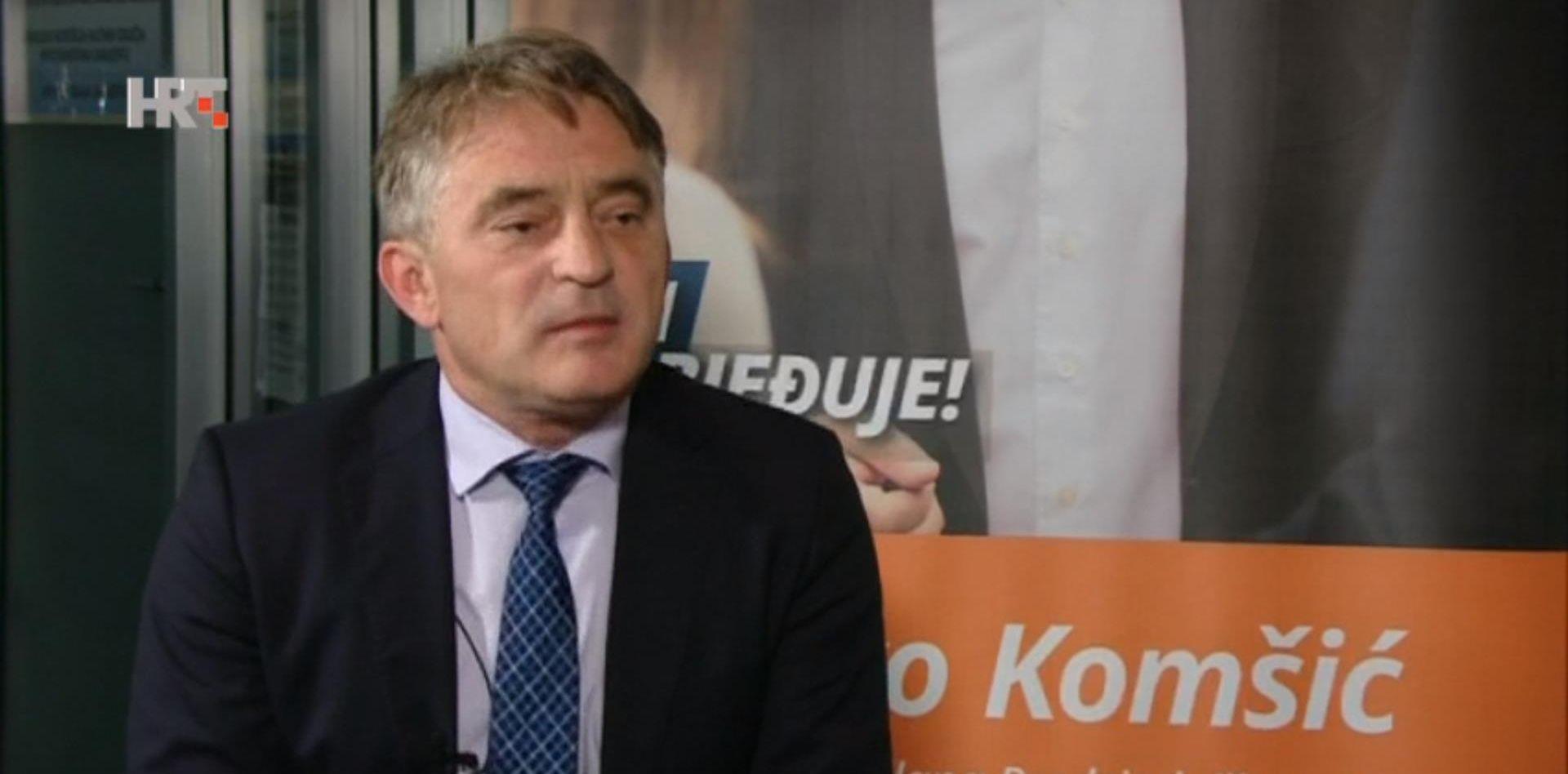 """KOMŠIĆ """"Tužit ćemo Hrvatsku!"""""""