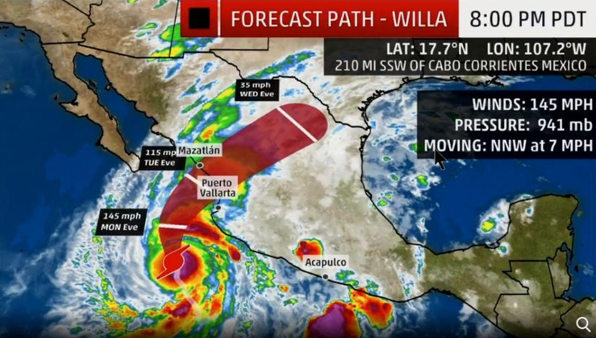 Ojačao uragan Willa i prijeti meksičkoj pacifičkoj obali