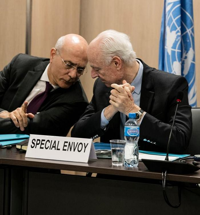 VIDEO: Staffan de Mistura stigao na razgovore u Damask