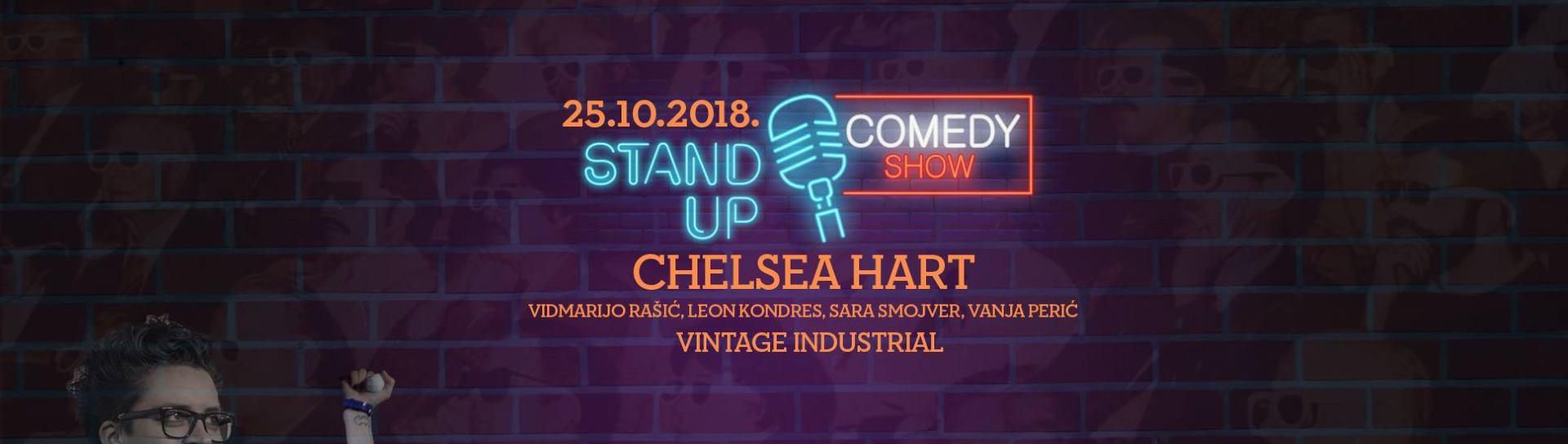 Chelsea Hart dolazi na posebnu stand up večer