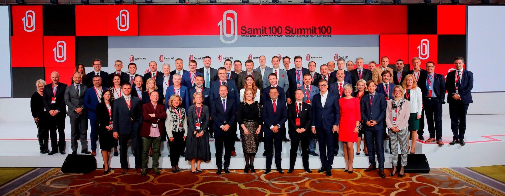 Plenarnim panelom završenSummit 100 biznis lidera jugoistočne Europe