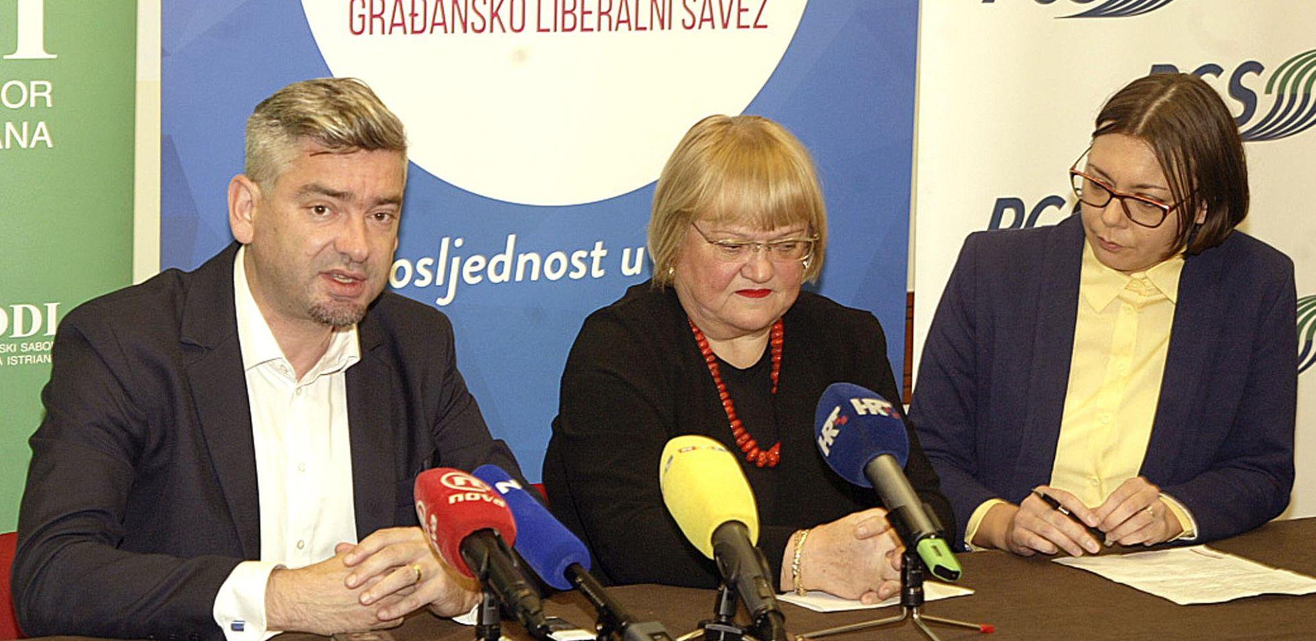 GLAS, IDS i PGS očekuju dva mjesta u EU parlamentu