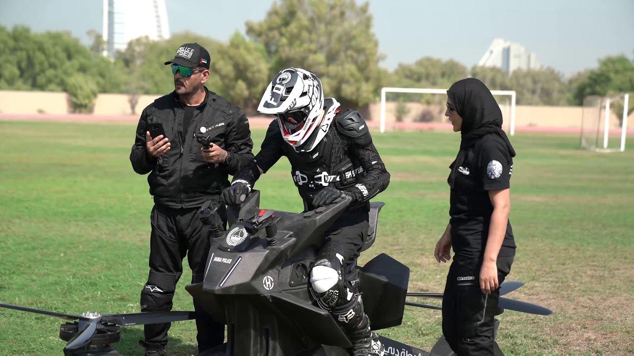 VIDEO: Stigla druga isporuka letećih motocikala za policiju Dubaija