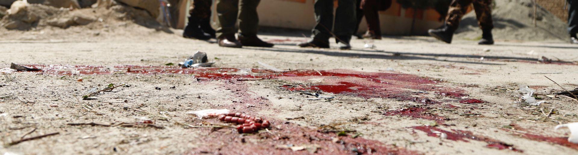 KABUL 15 mrtvih u samoubilačkom napadu