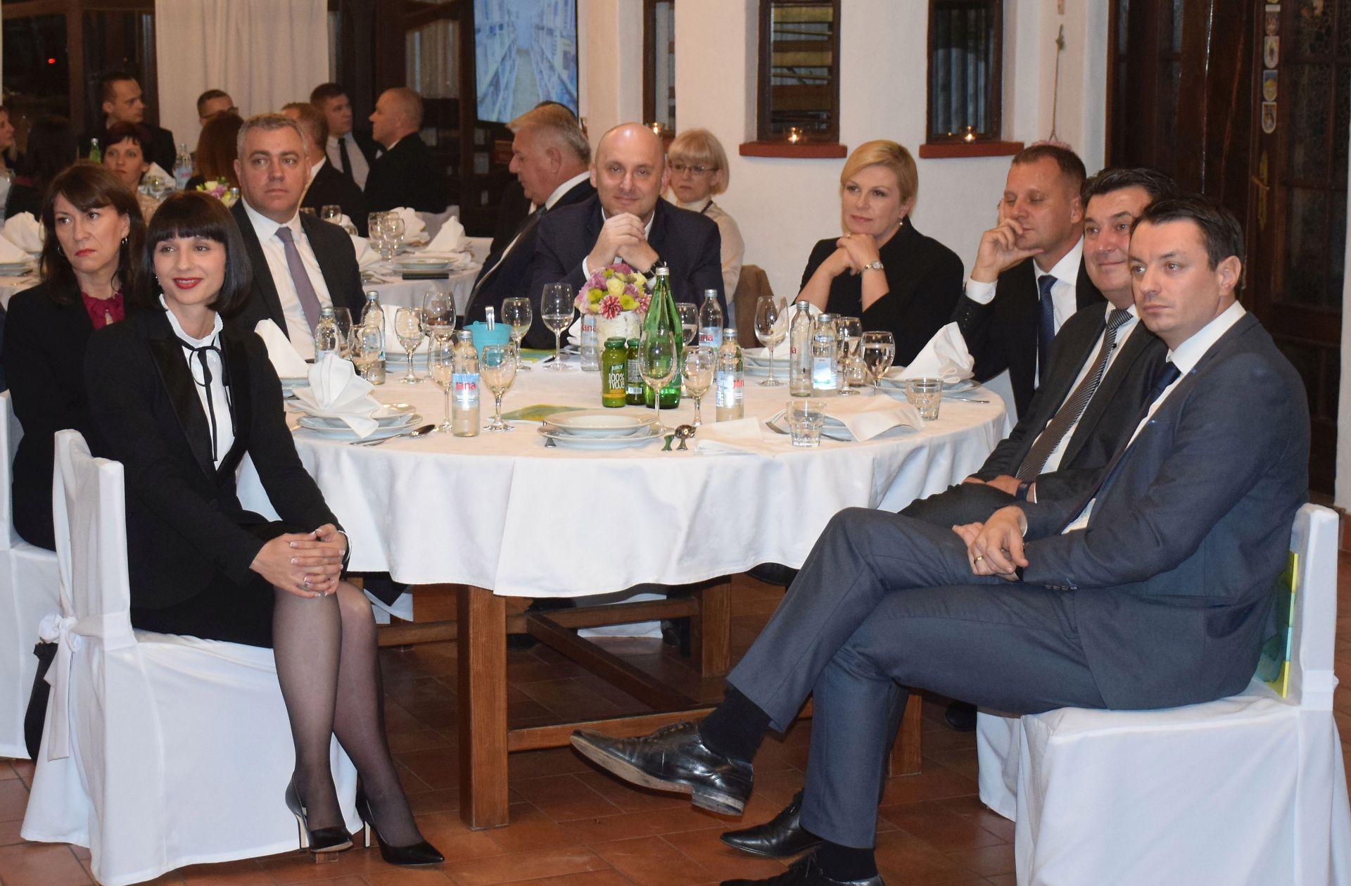 Predsjednica na proslavi 10 godina agencije Vidre
