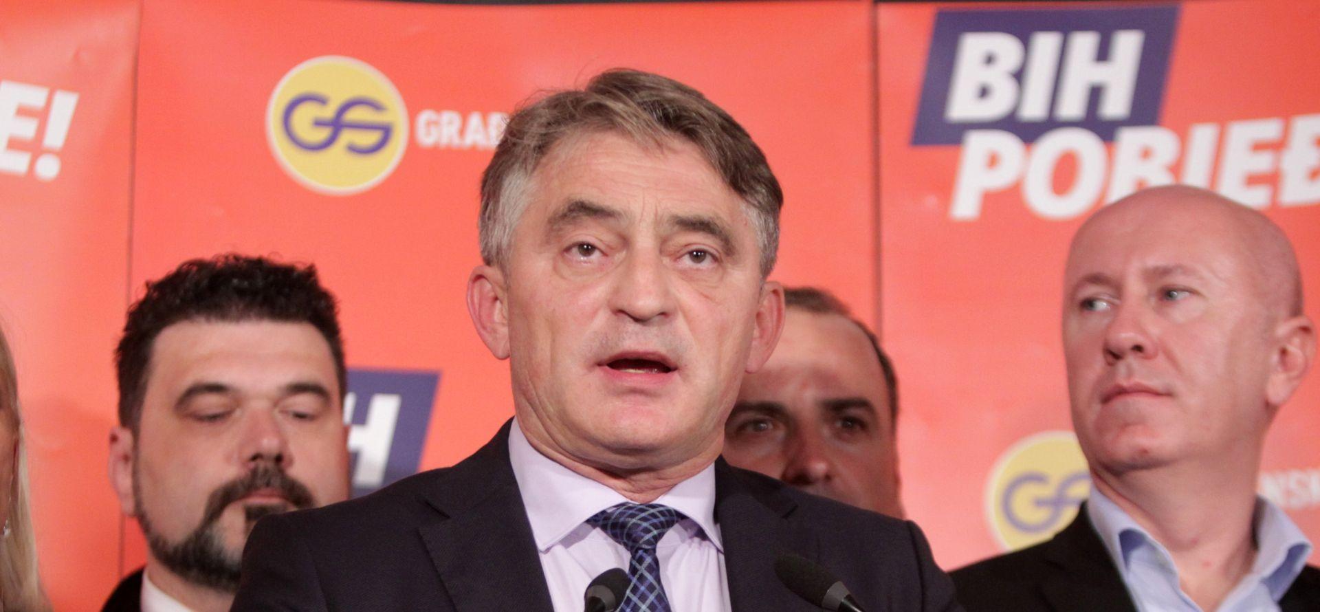 BIH Hrvatske institucije osporavaju Komšićev izbor