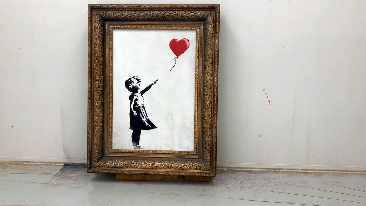 """VIDEO: """"Djevojčica s balonom"""" trebala je biti izrezana do kraja"""
