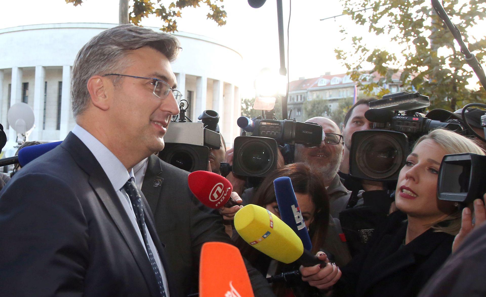 """""""SLATKI STE, DAMIRA"""" Plenković se ispričao"""