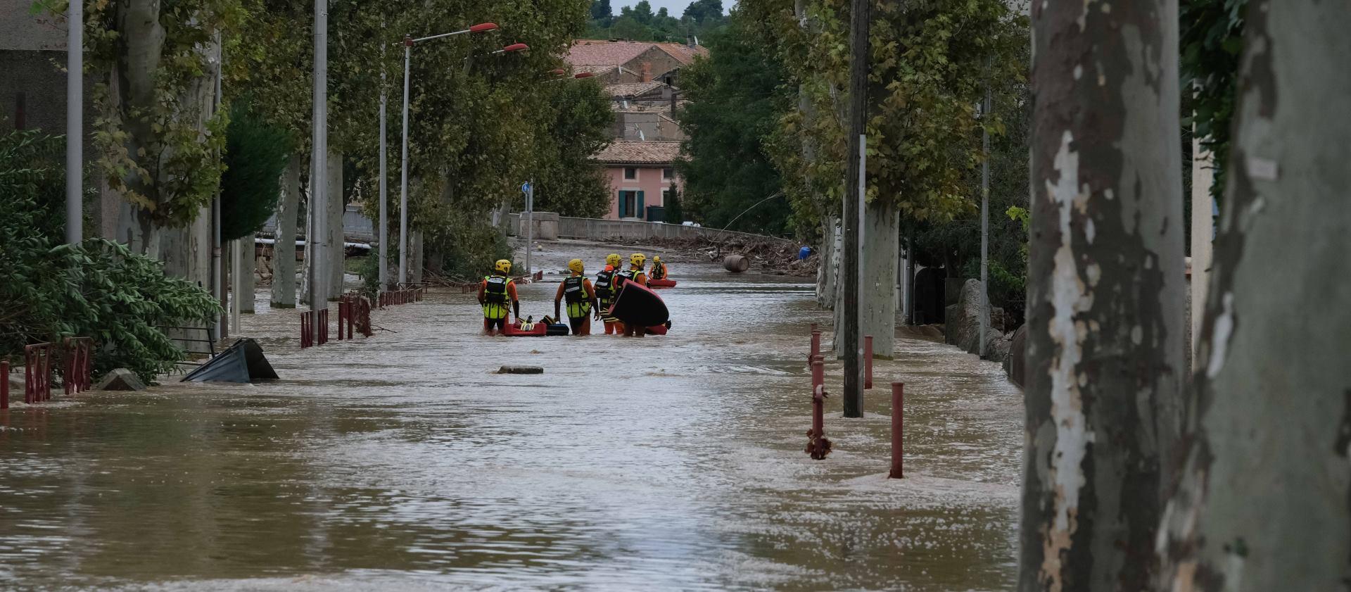 VIDEO: Snimke velikih poplava na jugu Francuske