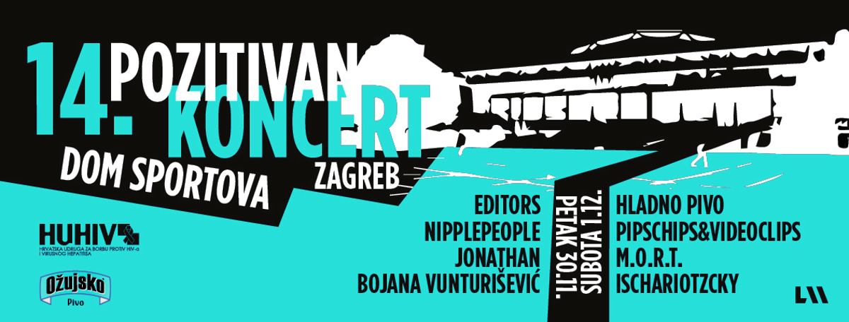 Editors, Hladno pivo i Pipsi predvode lineup 'Pozitivnog koncerta'