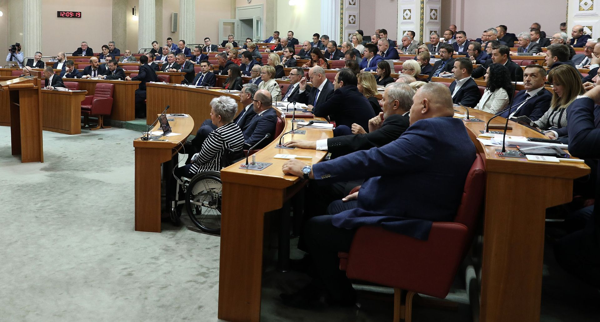 SABOR Plenkovićevoj vladi 'palac gore'