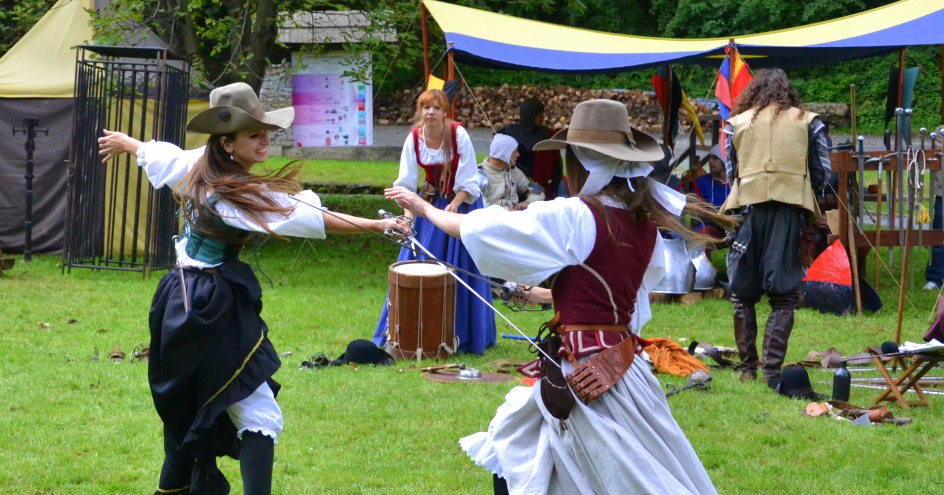 FOTO: Očekuje vas Srednjovjekovni viteški turnir na Jankovcu