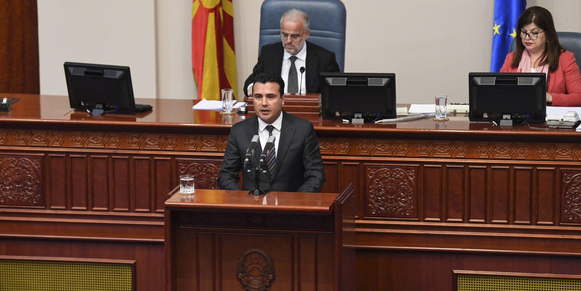 SJEVERNA MAKEDONIJA: Premijer Zoran Zaev podnio ostavku