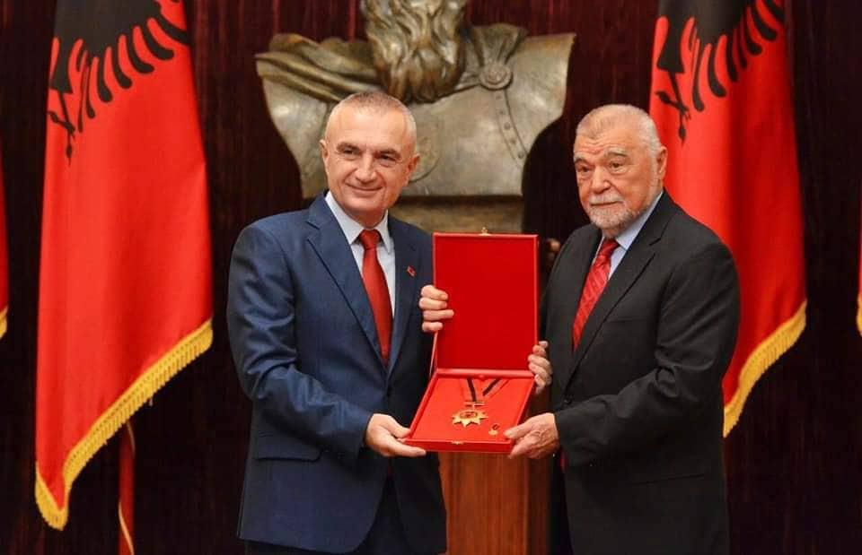 Mesić primio odlikovanje od albanskog predsjednika Ilira Mete