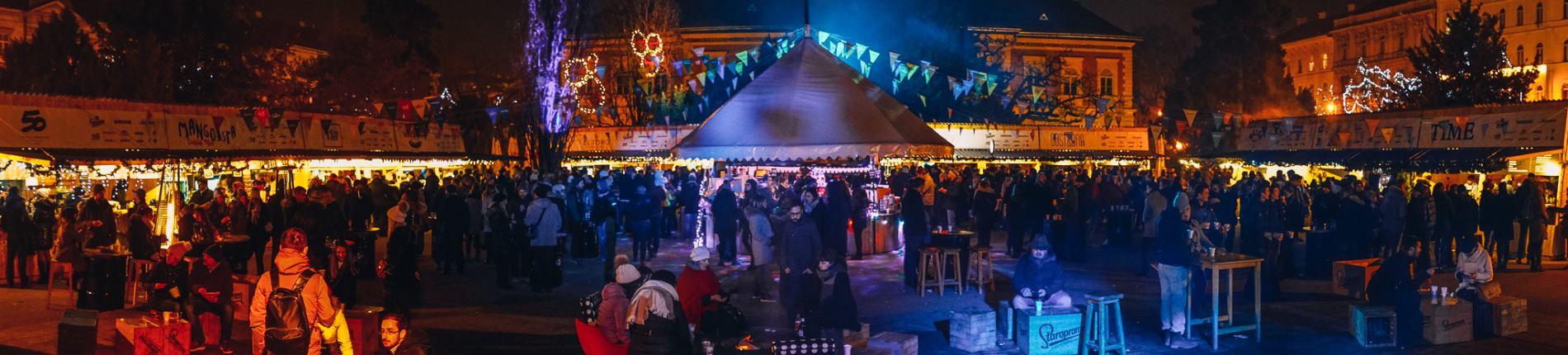 FOTO: Fuliranje na Strossmayerovom trgu otvara svoja vrata
