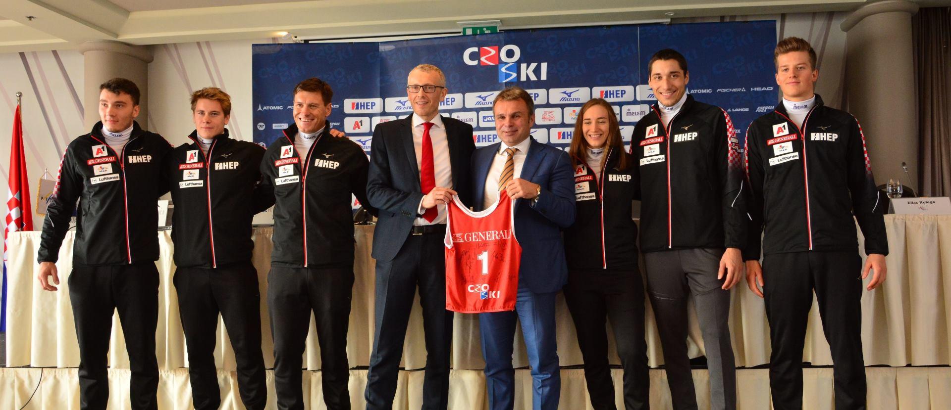 Hrvatski skijaški savez u novu sezonu s novim glavnim sponzorom