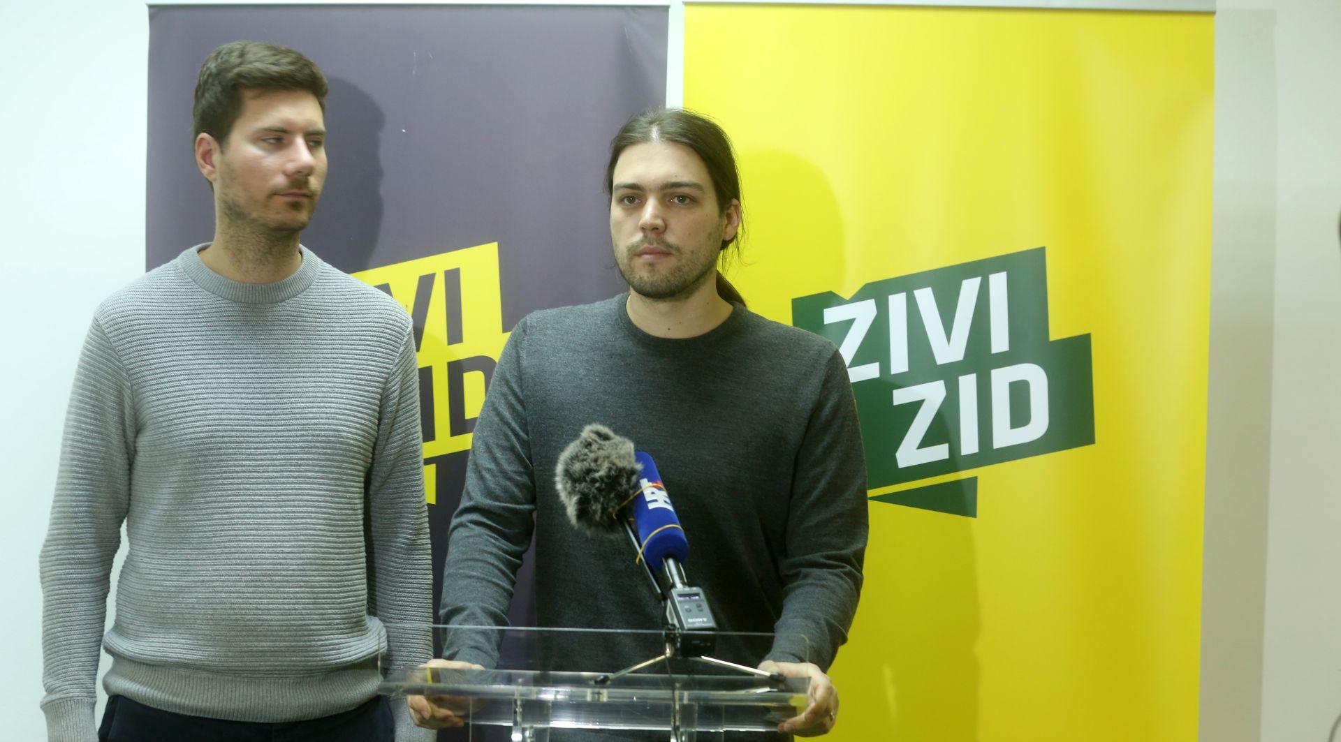 Živi zid podnio kaznenu prijavu protiv Bandića i Puh