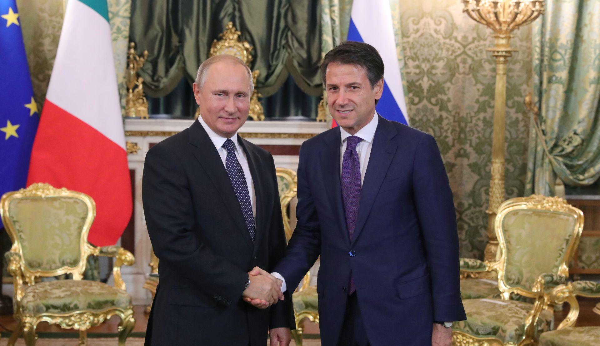 Putin prihvatio poziv da posjeti Italiju