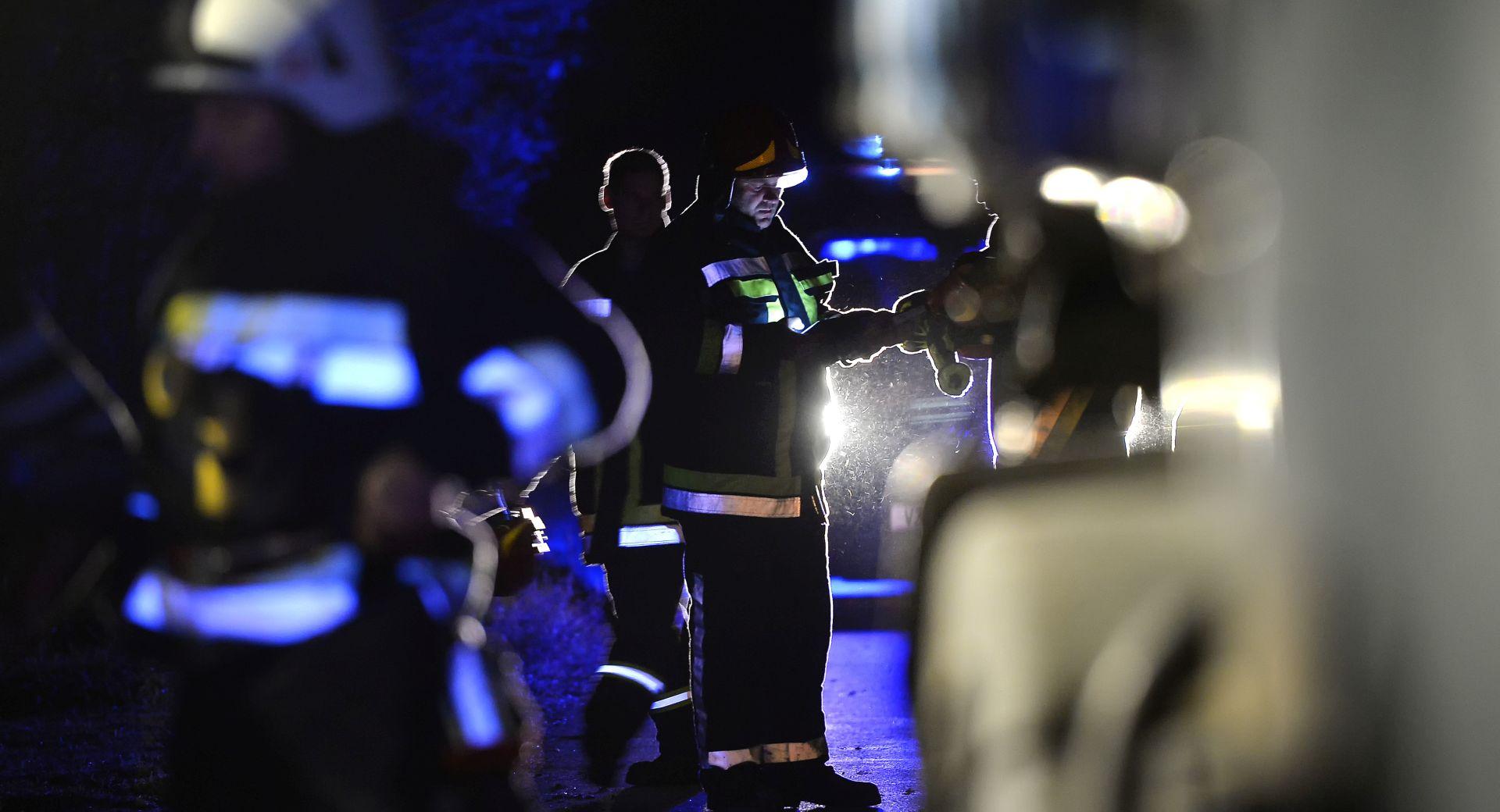 U Dubravi izgorio noćni klub, razlog požara nepoznat